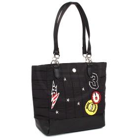 Сумка женская текстиль DJ-5218-2-BLACK   (отделка-иск/кожа) ,    1отд,    плечевой ремень,    SALE черный